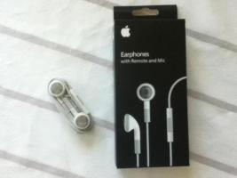 Kopfh�rer mit Fernbedienung und Mikrofon f�r Apple iPhone