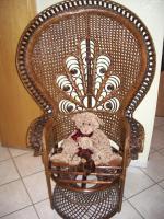 Korbsessel Sessel Stuhl