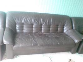 Foto 3 Kostenlose Couchgarnitur abzugeben Echtes Leder!!!Herne