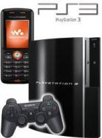 Kostenlose Sony Playstation3 40GB+Sony Ericsson w200i-nur 9,95€mon.