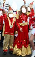 Kostüm für Kinderprinzenpaar - Karneval