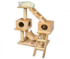 Kratzbaum Katzen Neu im Box Roza