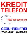 Kredit-Telefon 0800 996 5996 3201 geb�hrenfrei