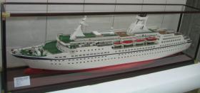 Foto 3 Kreuzfahrtschiffsmodelle nach originalplännen in 1:100