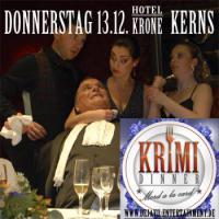 Krimidinner ''Mord a la Carte''  13.12. Hotel Krone Kerns