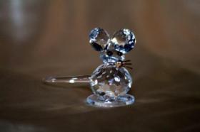 Foto 7 Kristallfiguren mit Goldauflage