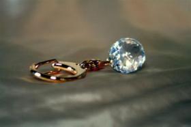 Foto 9 Kristallfiguren mit Goldauflage