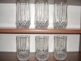 Kristallgläser  6 Stück