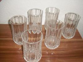 Foto 3 Kristallgläser  6 Stück