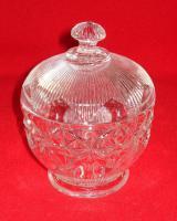 Foto 2 Kristallglas 4tlg. 2 Schalen + 2 Zuckerdosen