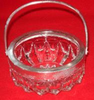 Foto 3 Kristallglas 4tlg. 2 Schalen + 2 Zuckerdosen