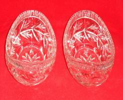 Foto 4 Kristallglas 4tlg. 2 Schalen + 2 Zuckerdosen