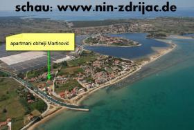 Kroatien Sandstrand, Ferienwohnung Nin bei Zadar