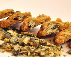 Kürbiskern - Krokant Cookies mmm.