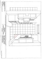 Küche von oben 3D