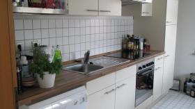Küche mit Elektrogeräten