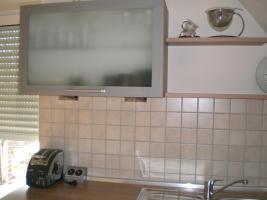 Foto 6 Küche Hochglanz Jasmin, Nuss-Nachbildung Nougat - TOP Zustand