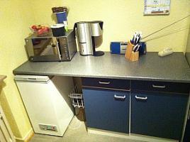 Foto 2 Küche Korpus blau gebraucht