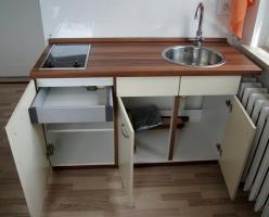 Foto 2 Küche bestehend aus 2 Blöcken - Küchenschränke