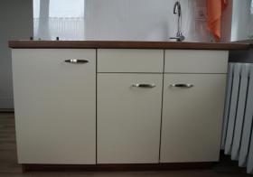 Foto 3 Küche bestehend aus 2 Blöcken - Küchenschränke