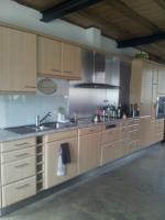 Küche komplett mit Elektrogeräten, keine Spülmaschine