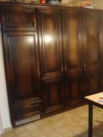 Foto 3 Küche massiv Holz Nussbaum, inkl. Geschirrspüler!