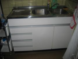 Foto 4 Küche weiß braun