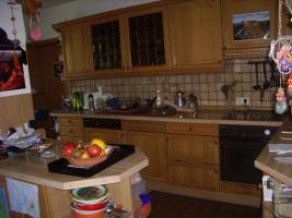 Küche, Eiche rustikal mit viel Zubehör