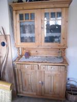 Küchenbuffetschrank Weichholz (ca. 100 Jahre alt)