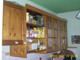 Küchenmöbel von IKEA, Front Holz, gebeizt, für Selbstabholer
