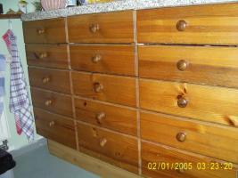 Foto 3 Küchenmöbel von IKEA, Front Holz, gebeizt, für Selbstabholer