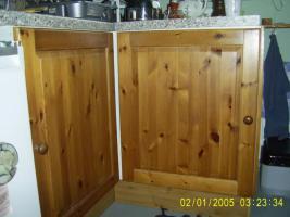 Foto 4 Küchenmöbel von IKEA, Front Holz, gebeizt, für Selbstabholer