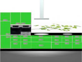 Foto 5 Küchenrückwand Küchennische küche Küchenrückwände Küchen