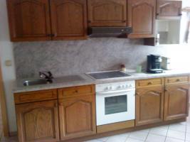 Küchenzeile Eiche Rustikal ohne E-Herd