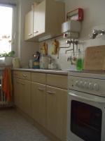 Küchenzeile ahornfarben, sehr gut erhalten, inklusive Herd