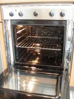 Foto 8 Küchenzeile inkl. Einbaugeräte und Tresen, rotbuche/anthrazit