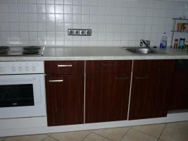 Foto 2 Küchenzeile weiß mit Geräten, ca. 2,60 m plus extra Hochschrank
