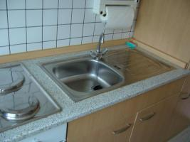 Foto 3 Küchenzeile, küchenblock, anbauküche buchefarben gut erhalten