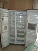 Foto 5 Kühlschrank Kühl-/Gefrierkombination  Side-by-Side  von LG mit Eisbereiter / Wasserepender|