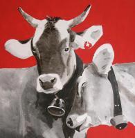 Kuh-Hör-Bild