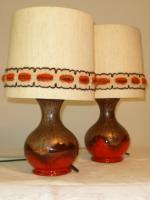 Kultige Tischlampen aus den 70er Jahren