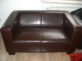 Kunstleder sofa