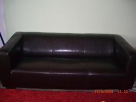 Foto 2 Kunstleder sofa