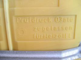 Foto 2 Kunstoff Heizöltank 3 Stück je 2000 Liter