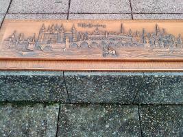 Kupferbild Kupferstich aus Aschaffenburg