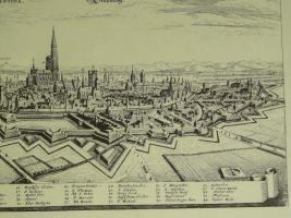 Foto 3 Kupferstich von Straßburg (B052)
