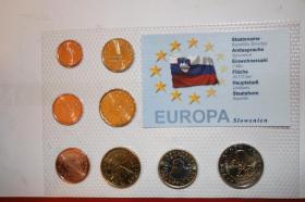Foto 5 Kursmünzensätze versch. Länder bfr preisgünstig