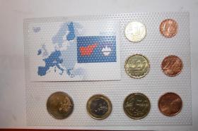Foto 6 Kursmünzensätze versch. Länder bfr preisgünstig