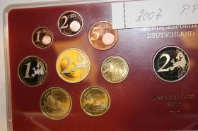 Kursmünzensatz 2007 Deutschland in PP - Präge -A-  32,00 EUR