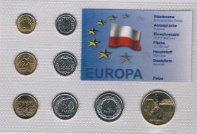 Foto 2 Kursmünzensatz Polen incl. Gedenkmünze Papst ! ! !